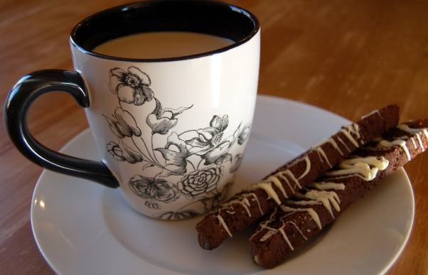 chocolate hazelnut biscotti 025